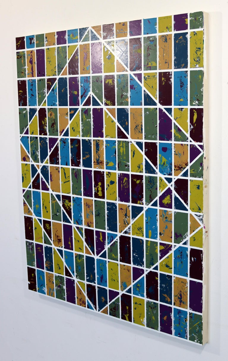 For your consideration is a modern, expressionist, abstract painting titled
