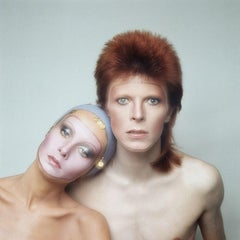 Pin Ups - David Bowie and Twiggy Oversize Print