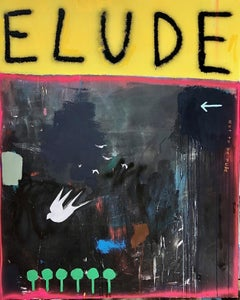 Pandemic Effect,2020  Mixed Media on Canvas  60 x 48 in.  Signed lower right