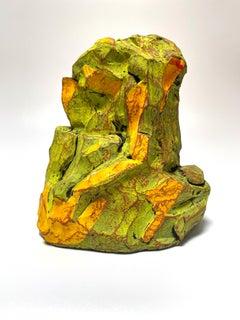 Justin Siegel, Untitled (Yellow), Ceramic, 2021