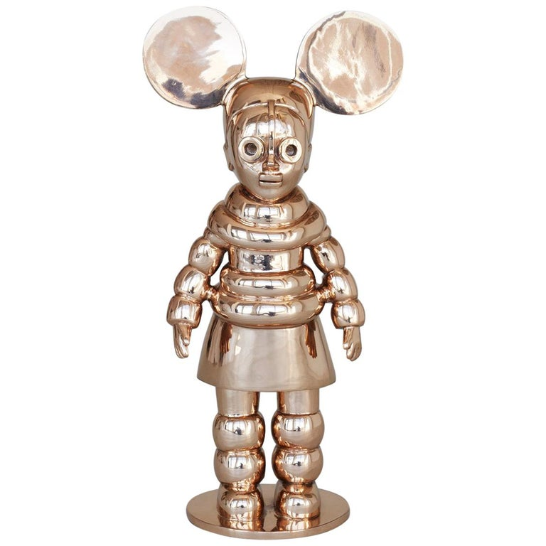 """Justine Mahoney, """"Mighty Ndebele"""", Special Edition, Bronze Sculpture For Sale"""