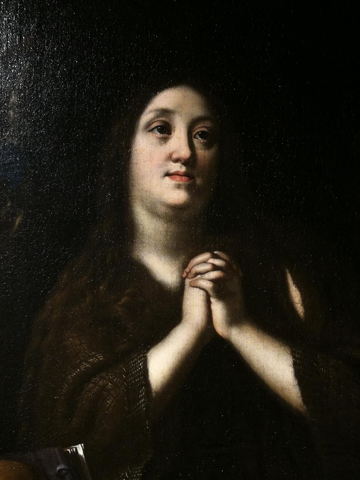 After Justus Sustermans, Portrait as Mary Magdalene, after 1620, oil on canvas
