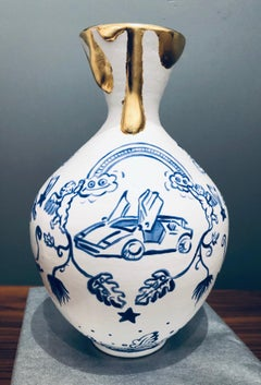 Hidden Gems No. 1 / Lamborghini Chinese vase contemporary pop art