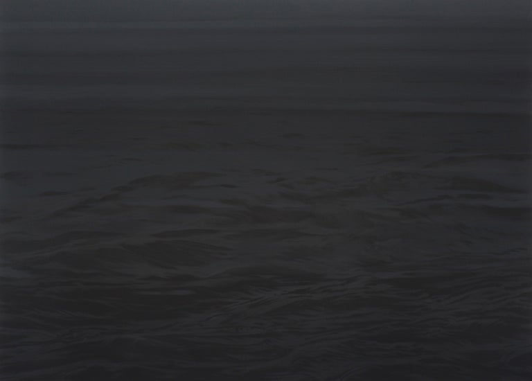 <i>Black Water (The Sea)</i>, 2016, by Justyna Smoleń, offered by Galerie Sandhofer