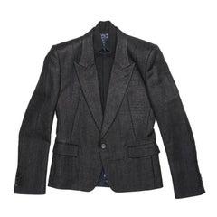 JUUN.J By Karl Lagerfeld Blazer in Black Wool and Polyamide Size 48FR