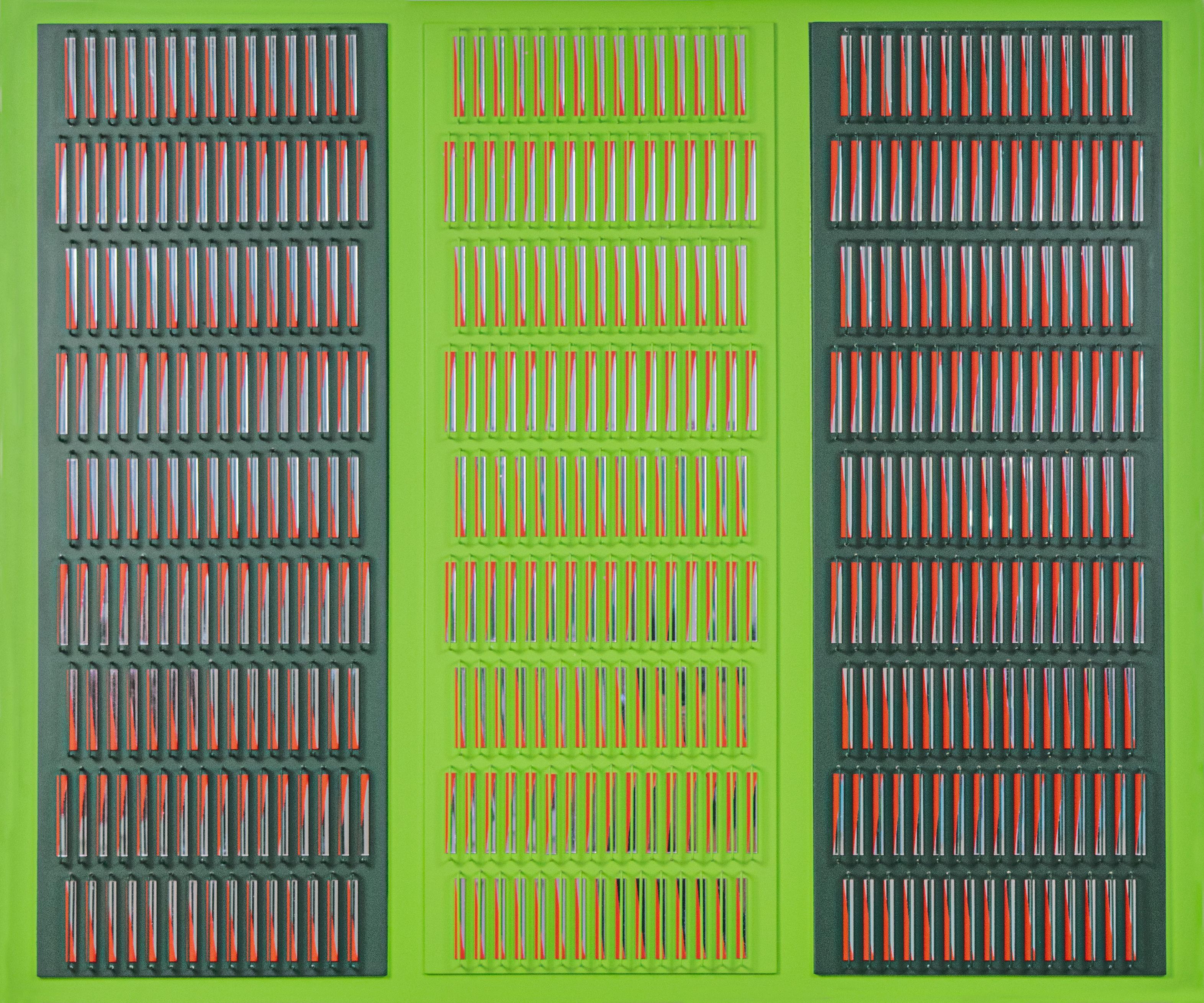 Fragmentación De La Luz Y Del Color - 21st Century, Contemporary, Installation