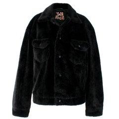 JW Anderson X Asap Rocky And Awge Teddy Fur Jacket US 6