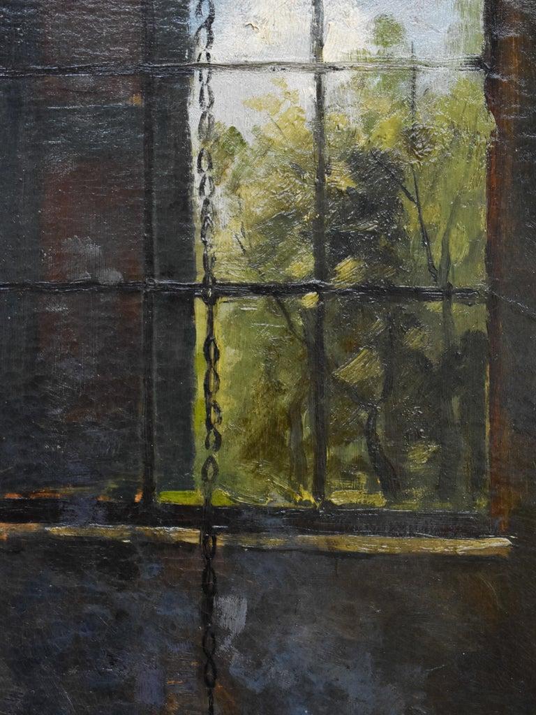 Peasant Woman - Dutch - Romantic - Interior - Classic - Netherlands - Beaux-Arts For Sale 2