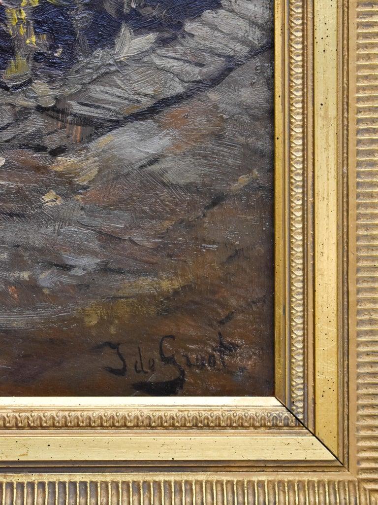 Peasant Woman - Dutch - Romantic - Interior - Classic - Netherlands - Beaux-Arts For Sale 3