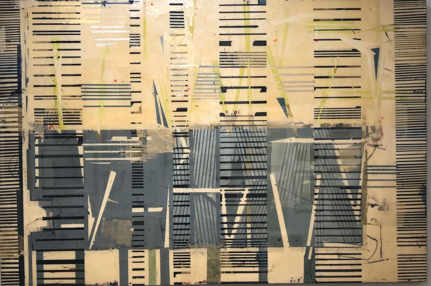 Entropy 1 / contemporary, silver & gold - math + science + art