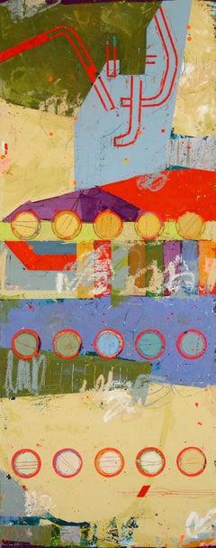 Fibonacci 331 / contemporary vivid color, pop