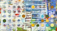 Fibonacci 401 / contemporary abstract color - math + sciene + art