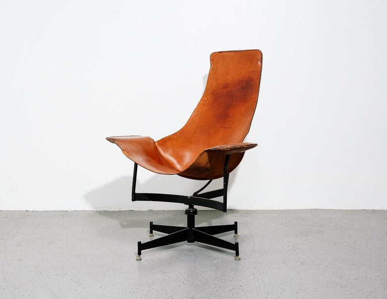 Mid-Century Modern 'K-Chair' by William Katavolos for Leathercraft For Sale