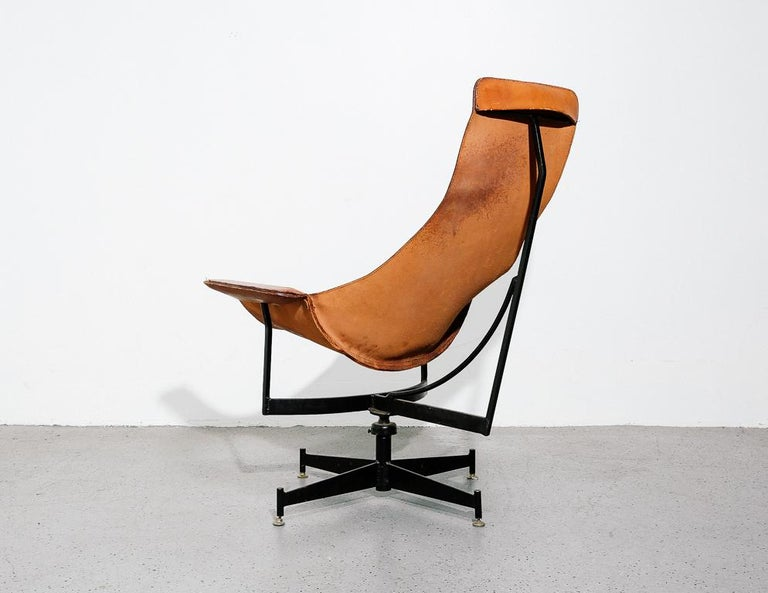 Mid-20th Century 'K-Chair' by William Katavolos for Leathercraft For Sale
