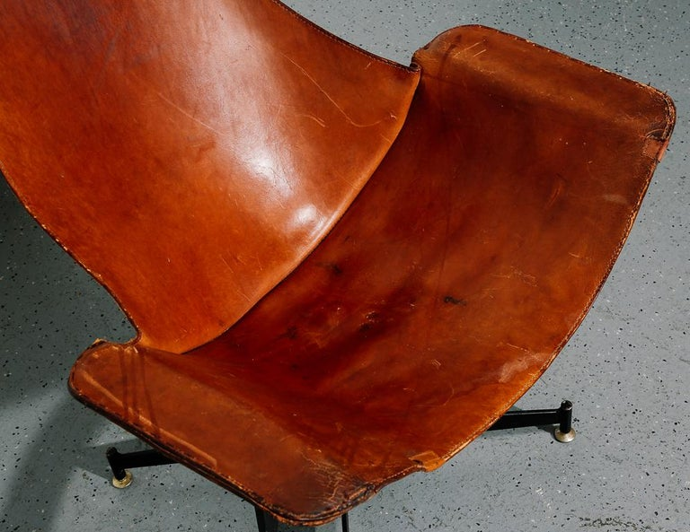 'K-Chair' by William Katavolos for Leathercraft For Sale 1