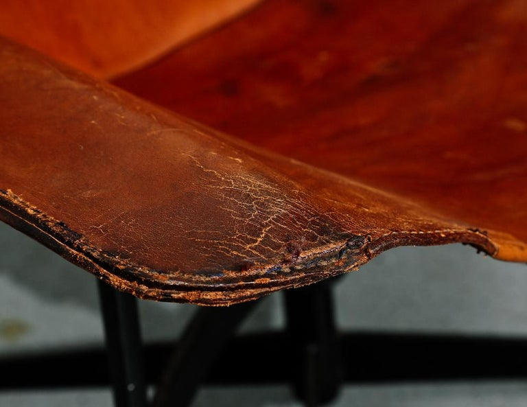 'K-Chair' by William Katavolos for Leathercraft For Sale 2