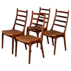 K. S. Møbler Four Dining Chairs