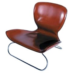 K3 Koi Low Leather Chair