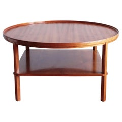 Kaare Klint Cuban Mahogany Circular Coffee Table