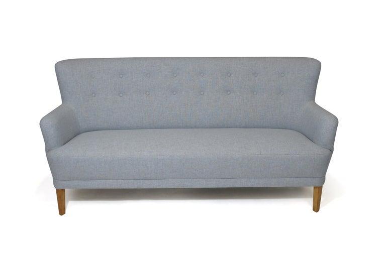 Kaare Klint Danish Designed Sofa In Excellent Condition In Berkeley, CA