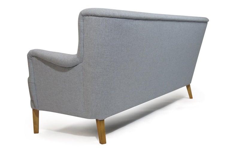 Wool Kaare Klint Danish Designed Sofa