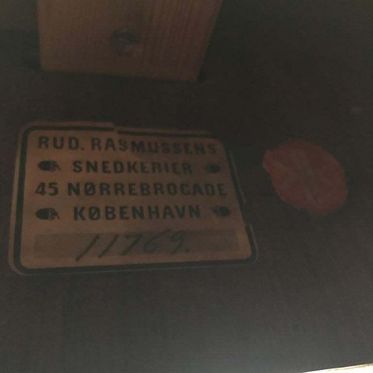 Kaare Klint Extendable Dining Table In Good Condition For Sale In Copenhagen, DK