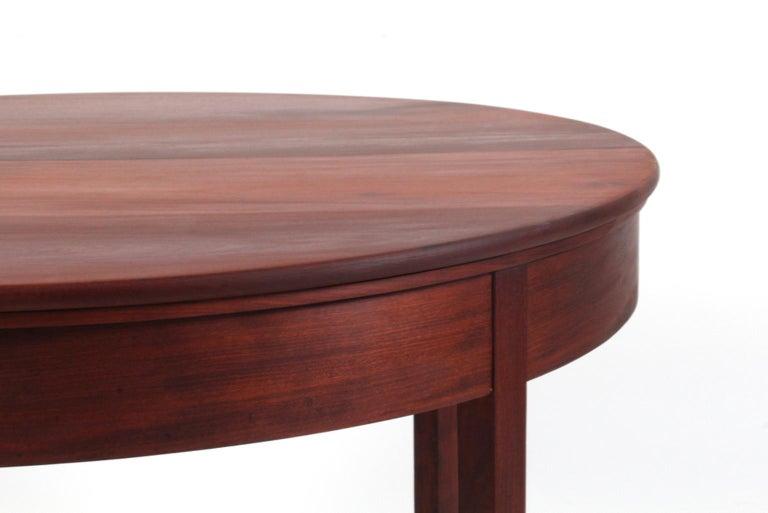 Scandinavian Modern Kaare Klint Extension Table, Solid Cuba Mahogany, Rud Rasmussen, 1930s For Sale