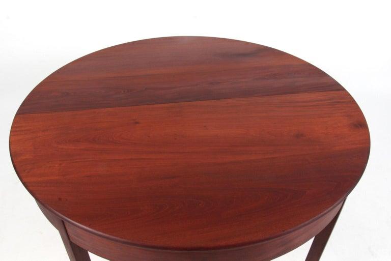 Danish Kaare Klint Extension Table, Solid Cuba Mahogany, Rud Rasmussen, 1930s For Sale