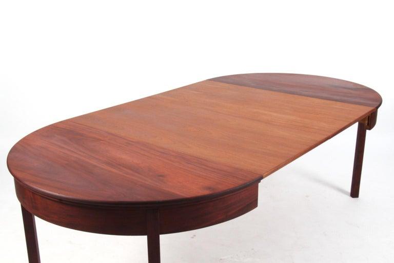 Mid-20th Century Kaare Klint Extension Table, Solid Cuba Mahogany, Rud Rasmussen, 1930s For Sale