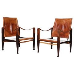 Kaare Klint for Rud Rasmussen, Safari Chairs