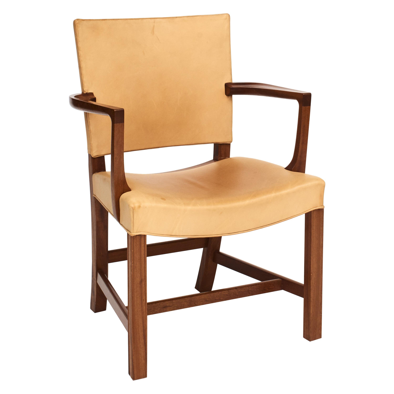 """Kaare Klint KK3758A, """"Barcelona Chair"""" for Rud Rasmussen"""