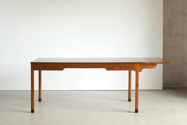 Scandinavian Modern Kaare Klint Mahogany Desk for Rud. Rasmussen For Sale