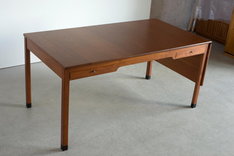Mid-20th Century Kaare Klint Mahogany Desk for Rud. Rasmussen For Sale