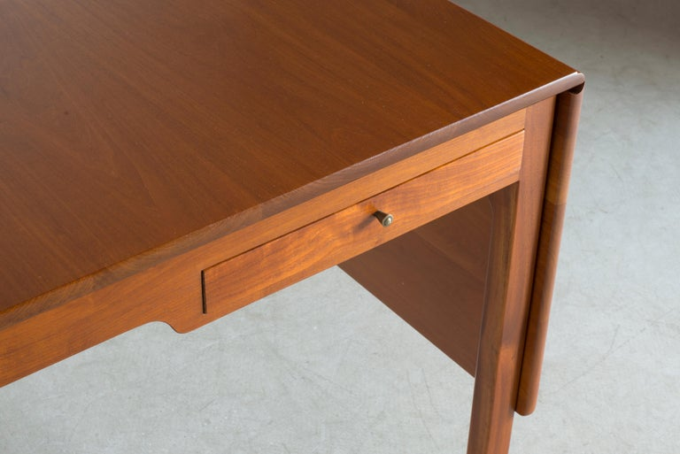 Kaare Klint Mahogany Desk for Rud. Rasmussen For Sale 2