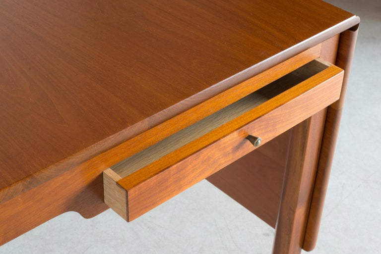 Kaare Klint Mahogany Desk for Rud. Rasmussen For Sale 3