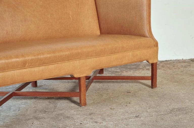 Kaare Klint Model 4118 Box Sofa, Rud Rasmussen, Denmark, 1950s For Sale 3