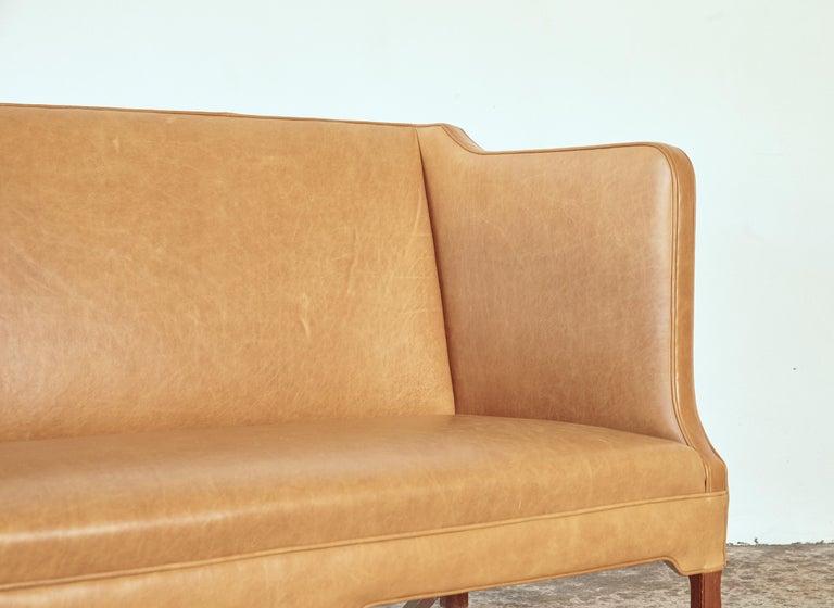 Kaare Klint Model 4118 Box Sofa, Rud Rasmussen, Denmark, 1950s For Sale 4