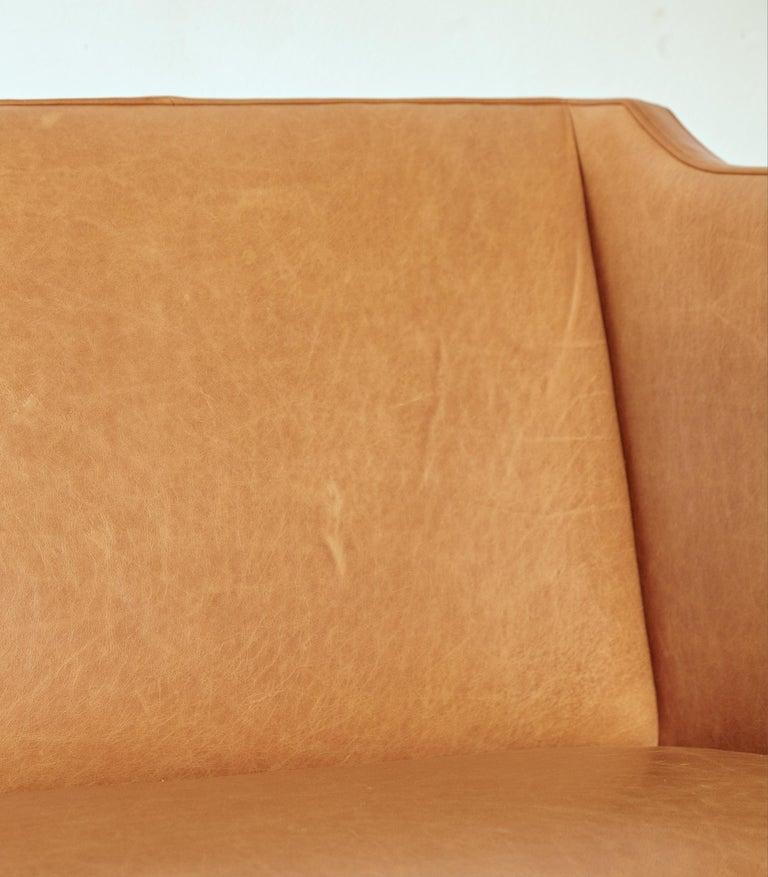 Kaare Klint Model 4118 Box Sofa, Rud Rasmussen, Denmark, 1950s For Sale 5