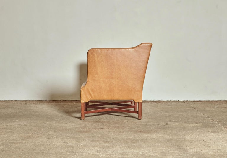 20th Century Kaare Klint Model 4118 Box Sofa, Rud Rasmussen, Denmark, 1950s For Sale