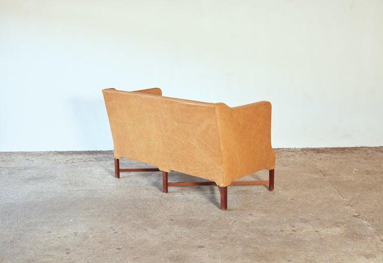 Kaare Klint Model 4118 Box Sofa, Rud Rasmussen, Denmark, 1950s For Sale 1