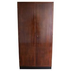 Kaare Klint, Model 5763 Armoire Cuban Mahogany and Oak Cabinet, 1938