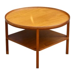 Kaare Klint Model 6687 Lounge Table in Mahogany, Rud. Rasmussen, Danish, 1940s