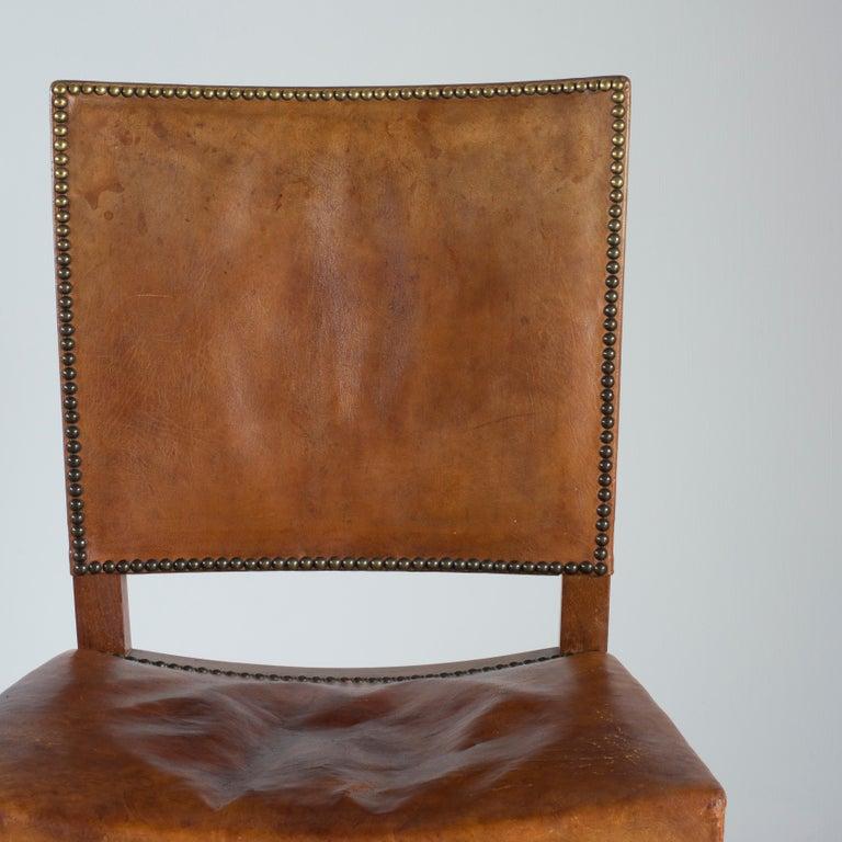 Kaare Klint Red Chair for Rud. Rasmussen For Sale 1