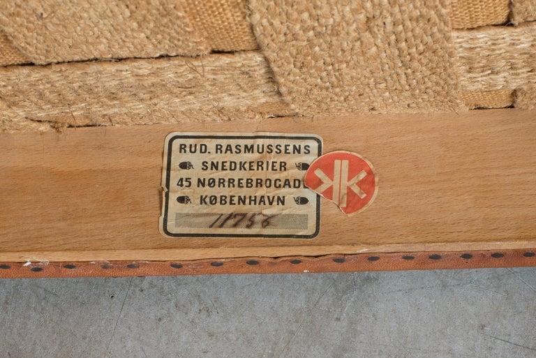 Kaare Klint Red Chair for Rud. Rasmussen For Sale 2
