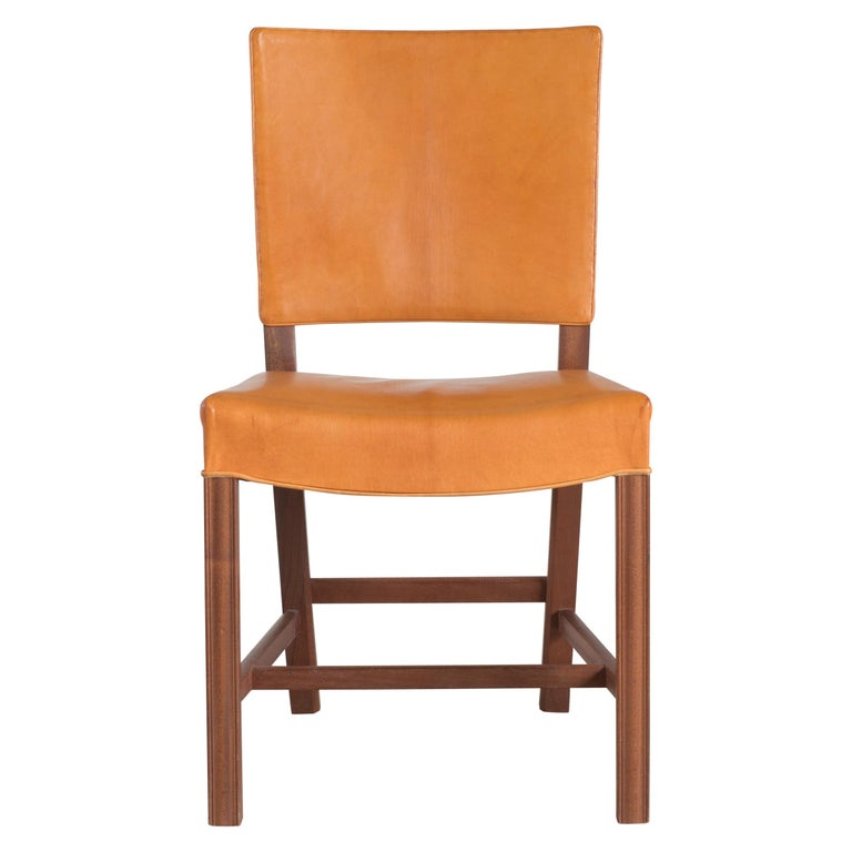 Kaare Klint Red Chair for Rud. Rasmussen For Sale