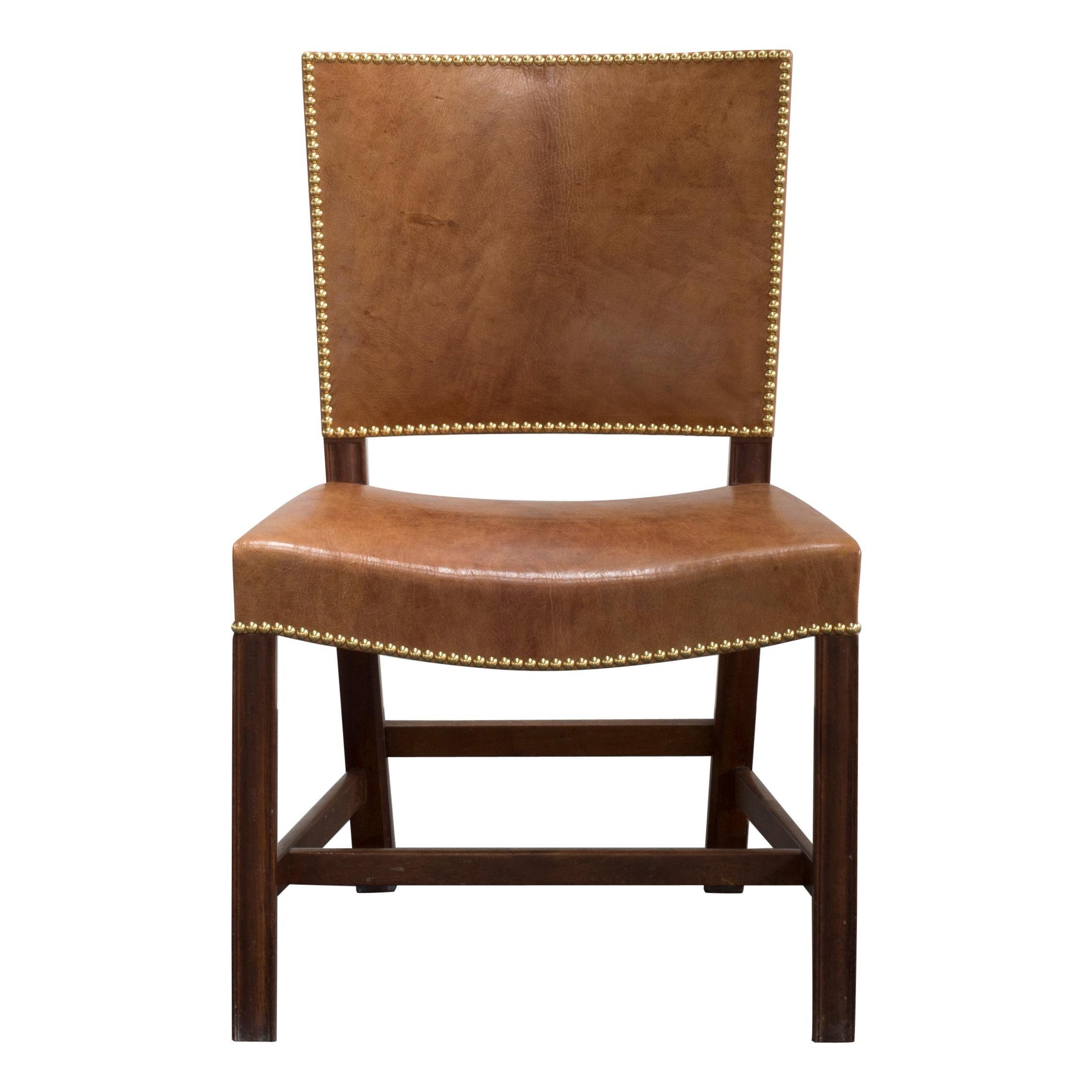 Kaare Klint Red Chair for Rud, Rasmussen