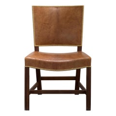 Kaare Klint Red Chair for Rud, Rasmussen