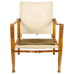 Kaare Klint Safari Chair by Rud Rasmussen for Illums Bolighus