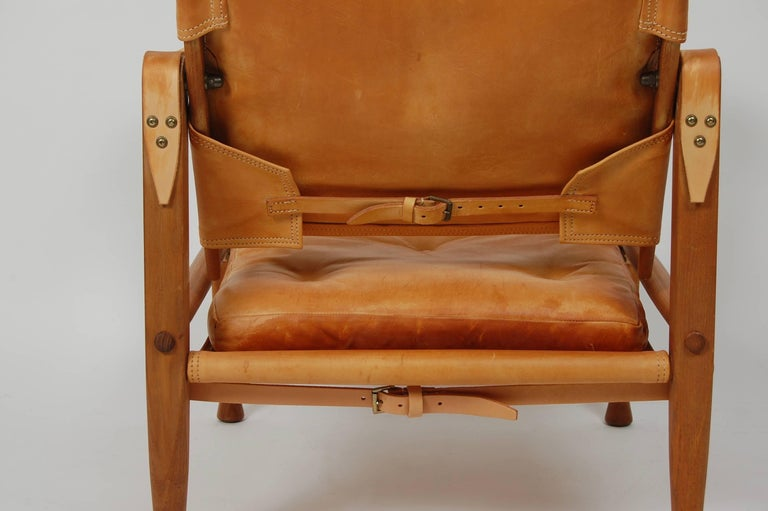 Mid-20th Century Kaare Klint Safari Chair Danish Design For Sale