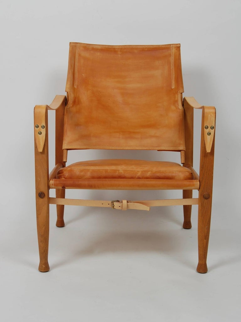 Kaare Klint Safari Chair Danish Design For Sale 1